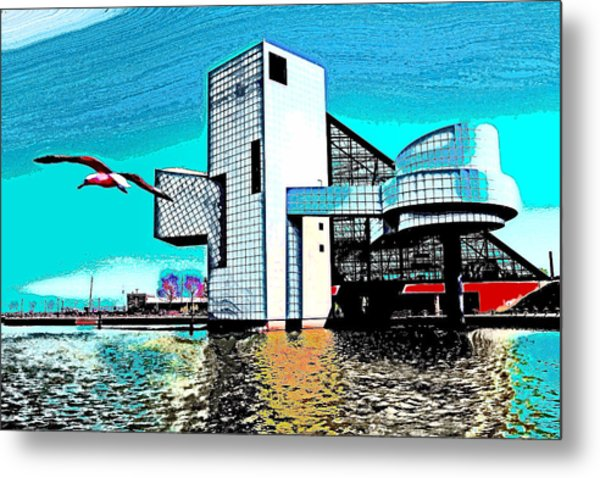 Rock And Roll Hall Of Fame - Cleveland Ohio - 4 Metal Print
