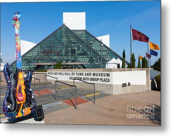 Rock And Roll Hall Of Fame IIi Metal Print