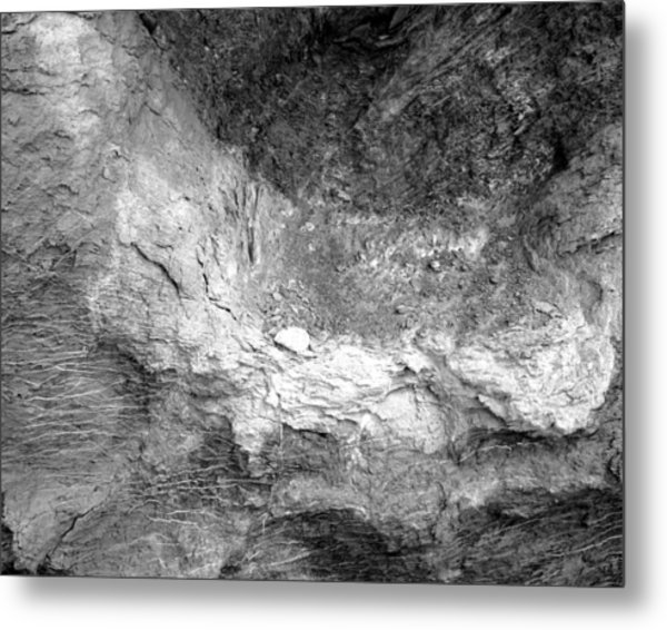 Rock Grain Metal Print