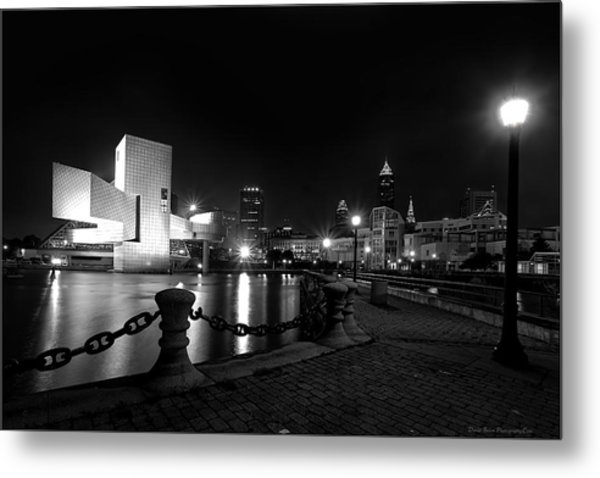 Rock Hall And Great Lakes Science Center Metal Print