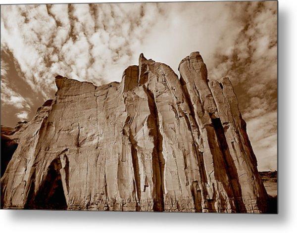 Rock Mound Metal Print