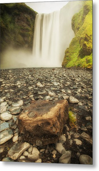 Rock N' Fall Metal Print