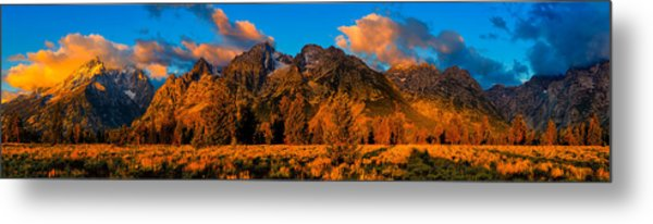 Rock Of Ages Panorama Metal Print