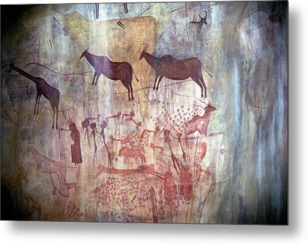 Rock Painting Metal Print