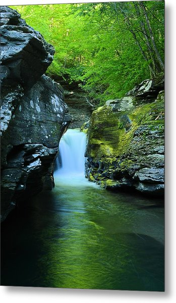 Rock Run Cataracts #1 Metal Print