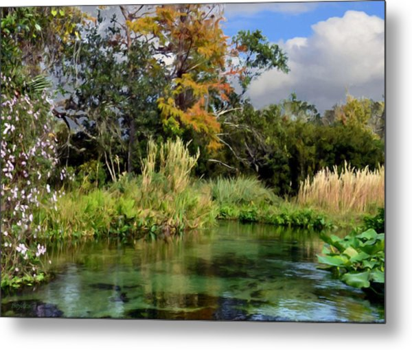 Rock Springs Metal Print by Bob Jackson