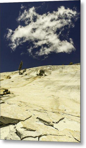 Rocking Skyward-yosemite Series 10 Metal Print by David Allen Pierson
