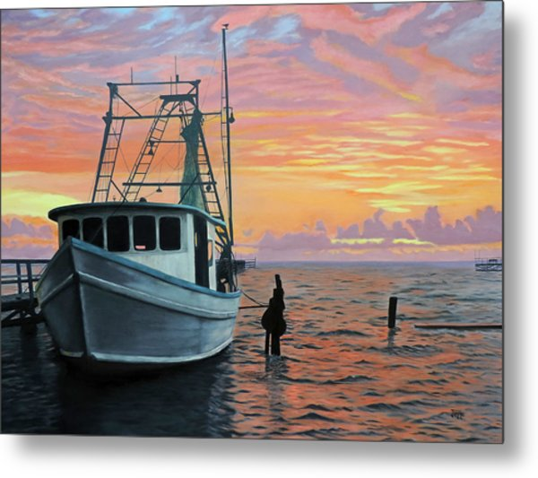 Rockport Sunrise Metal Print