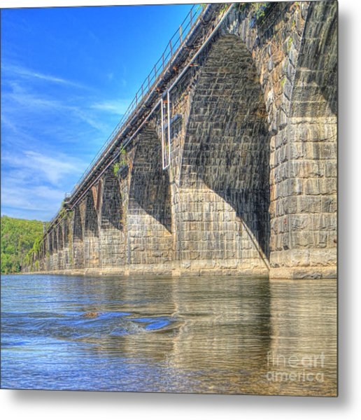 Rockville Bridge Metal Print