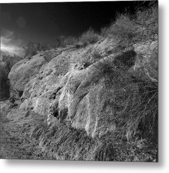 Rocky Face And Sky Metal Print