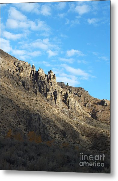 Rocky Mountain Metal Print by Kimberly Maiden