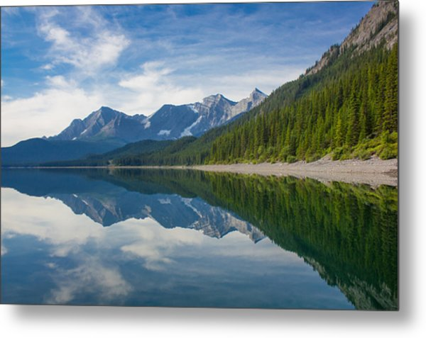 Rocky Mountain Moment Metal Print by Laura Bentley