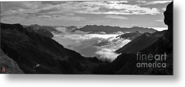 Rocky Sight Metal Print by Marco Affini