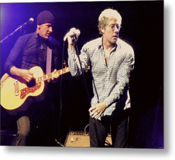 Roger Daltrey And The Who Metal Print