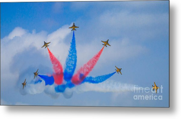 Rokaf Aerobatic Team Metal Print