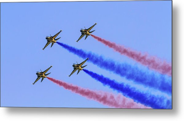 Rokaf Black Eagles Metal Print
