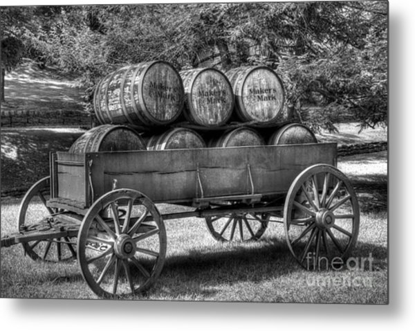 Roll Out The Barrels Metal Print