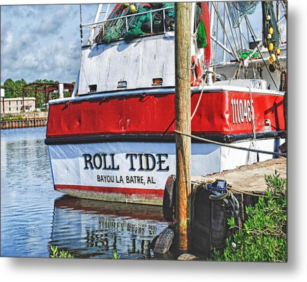 Roll Tide Stern Metal Print