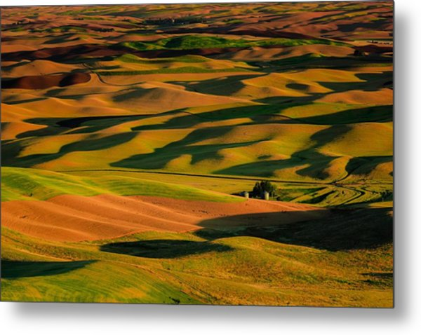 Rolling Hills Of Time Metal Print