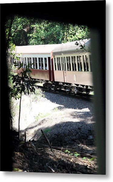 Metal Print featuring the photograph rolling Stock by Debbie Cundy