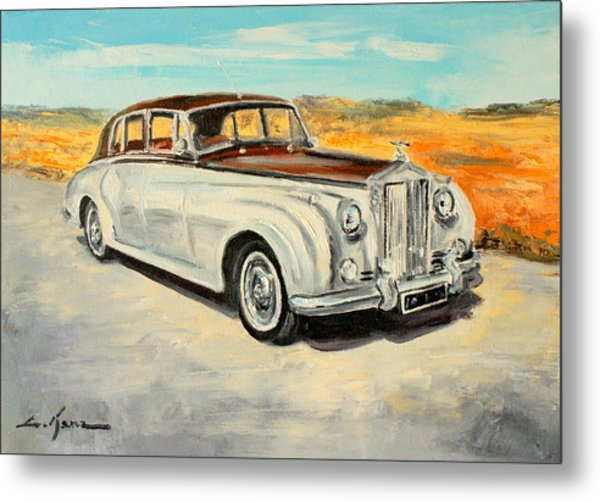 Rolls Royce Silver Cloud Metal Print