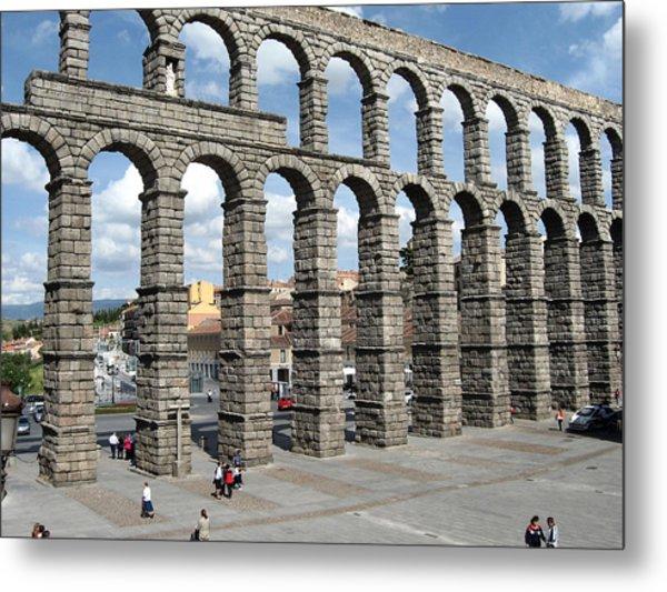 Roman Aqueduct IIi Metal Print