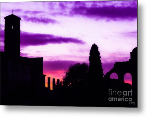 Roman Sunrise Metal Print