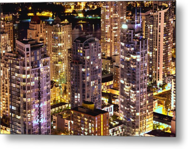 Romantic Yaletown Vancouver Canada Mcdxxxi Metal Print