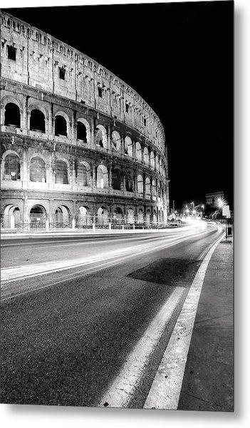 Rome Colloseo Metal Print