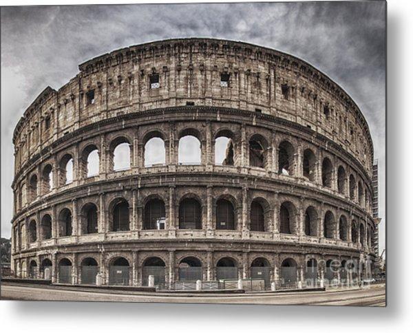 Rome Colosseum 02 Metal Print