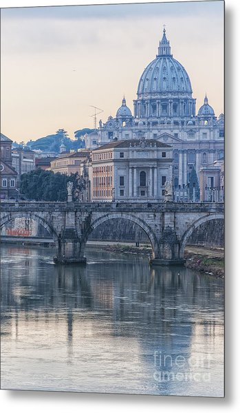 Rome Saint Peters Basilica 02 Metal Print