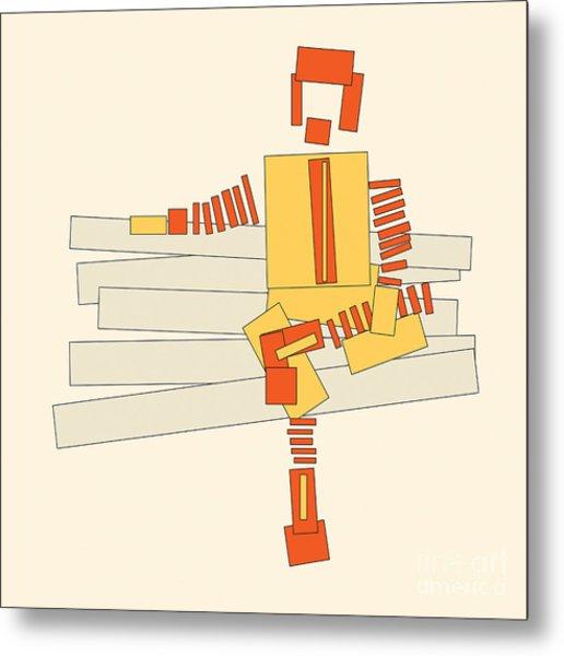 Ronald Mcdonald Metal Print