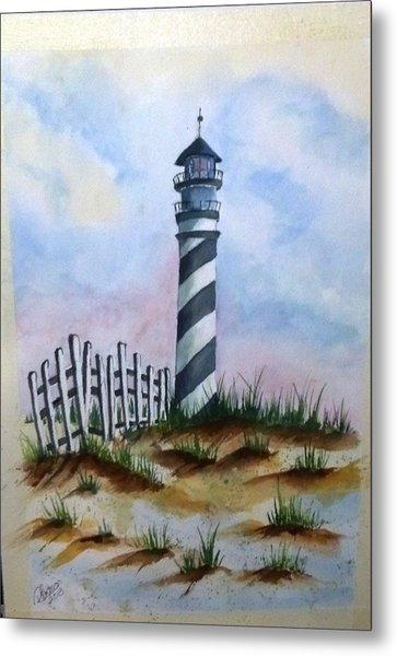 Ron's Lighthouse Metal Print