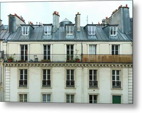 Roof Of Paris Metal Print