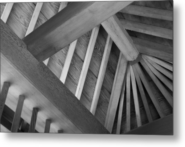 Roof Structure Metal Print