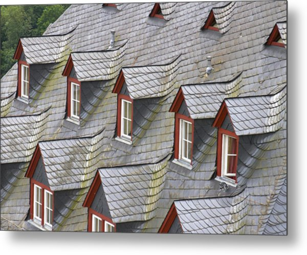 Roof Tops Metal Print
