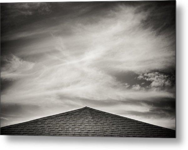 Rooftop Sky Metal Print