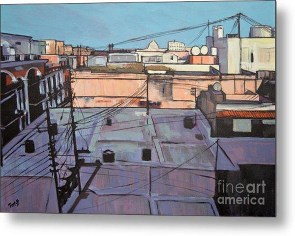 Rooftops Of Old San Juan Metal Print
