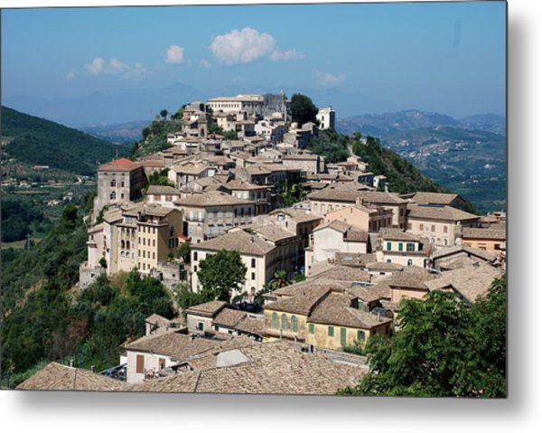 Rooftops Of The Italian City Metal Print