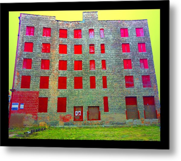 Rooms With No View Metal Print