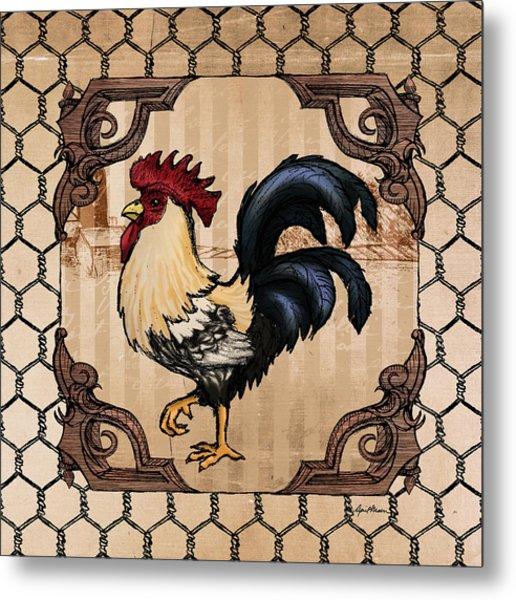 Rooster II Metal Print