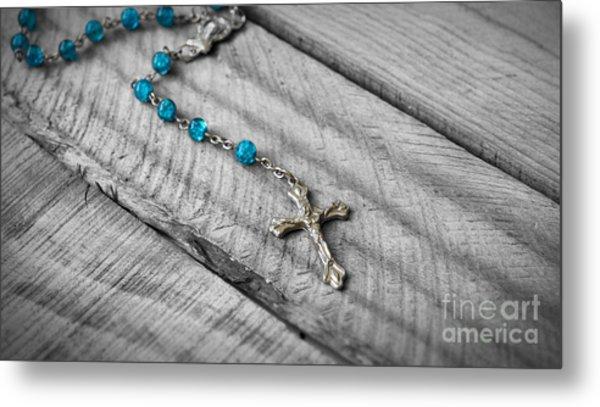 Rosary Metal Print