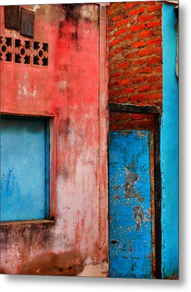 Metal Print featuring the photograph Rosa's Place by Skip Hunt
