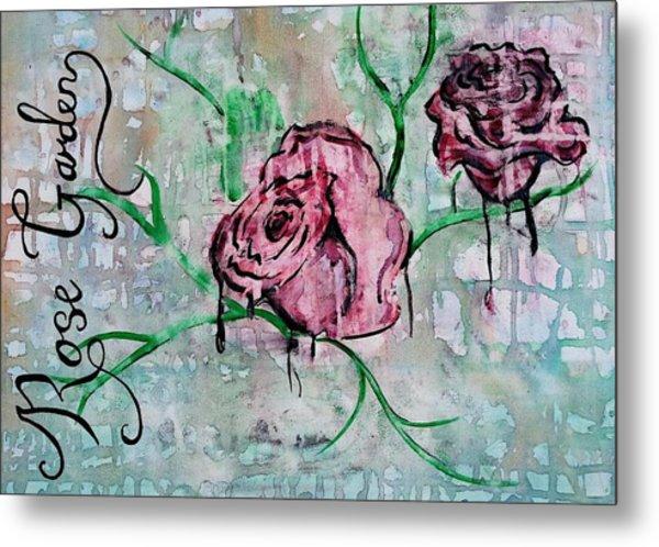 Rose Garden  Metal Print by Kiara Reynolds