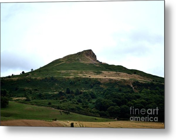 Metal Print featuring the photograph Roseberry Topping Hill by Scott Lyons