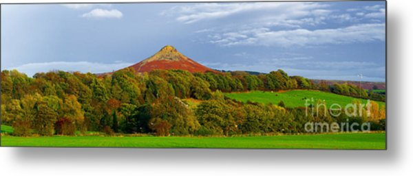 Roseberry Topping Yorkshire Moors Metal Print