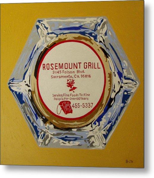 Rosemount Grille Metal Print by Paul Guyer