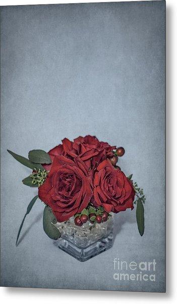 Roses Are Red... Metal Print