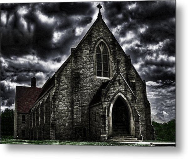 Roseville Ohio Church Metal Print