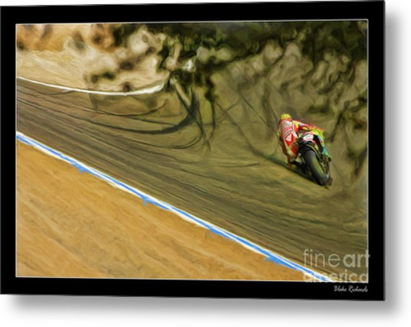 Rossi Though The Trees  Metal Print